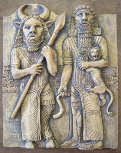 The epic of gilgamesh by anonymous gilgamesh sorrow after enkidus death fandeluxe Images
