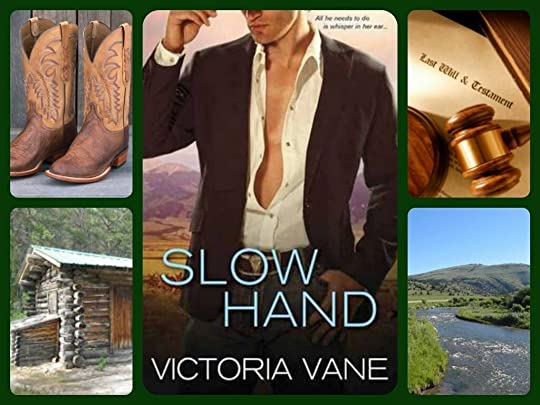 Slow Hand (Hot Cowboy Nights, #1) by Victoria Vane