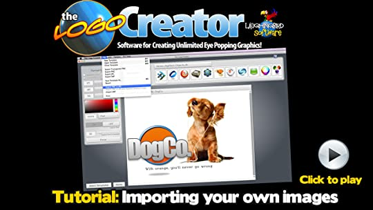 Logo creator design software review by laughingbird software read in addition an individual who would like to use it can watch its video from installation to designing hence making it the best reheart Images