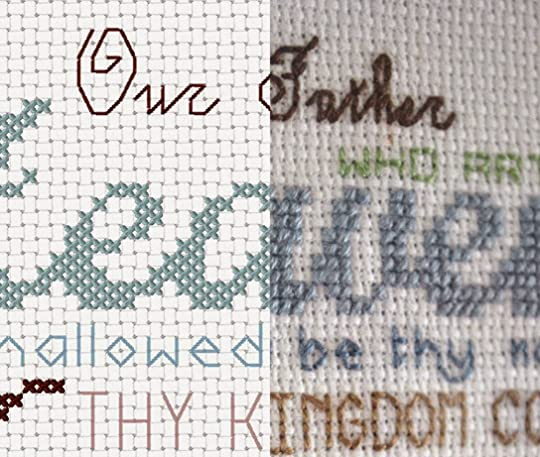 Crochet Pattern Our Father : Sarah Richardss Blog: The Chocolate Moose - Cross-Stitch ...
