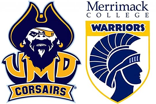 893c22234 The Corsairs use pirate mascots even though they re namesakes of the  Corsair warplane. Merrimack opened to educate warrior-vets in 1947