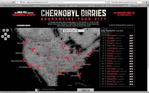 Andrew Blackwell's Blog - Chernobyl Diaries - June 05 ...
