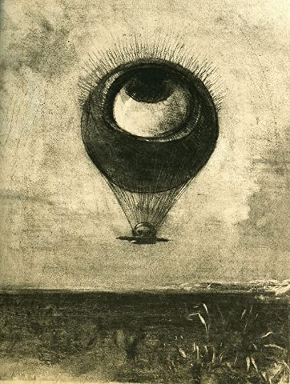 Eye Balloon by Odilon Redon
