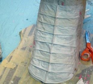 paper mache Drogon- breastplates 2