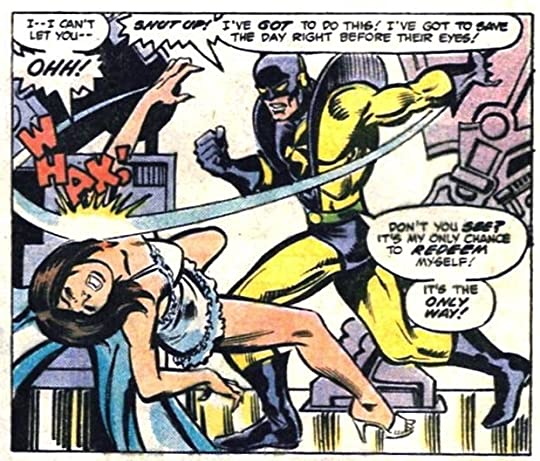 Hank Pym and wife.