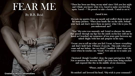 Fear Me (Broken Love, #1) by B B  Reid