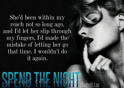 #SpendTheNight!