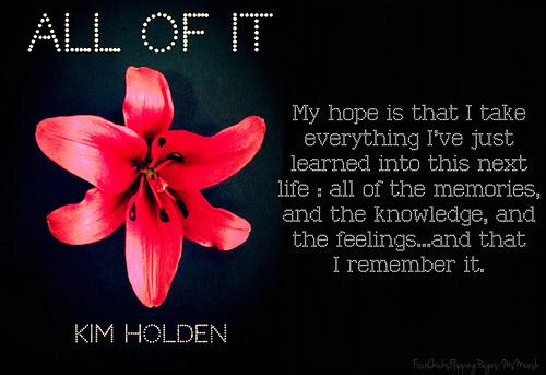 #AllOfIt-KimHolden