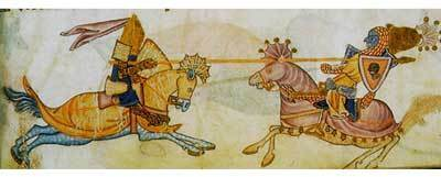 Richard the Lionheart and Saladin