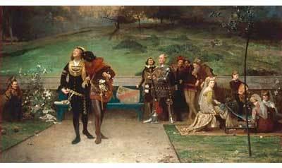 Edward II and Piers Gaveston