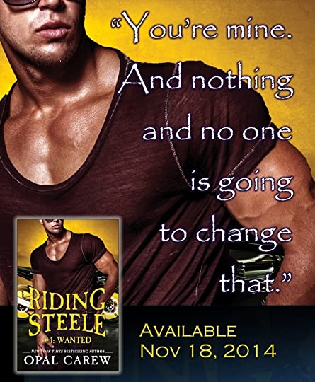 Riding Steele Wanted Opal Carew