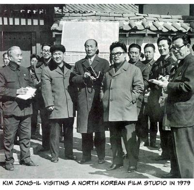 Kim Jong Il On Set 1979