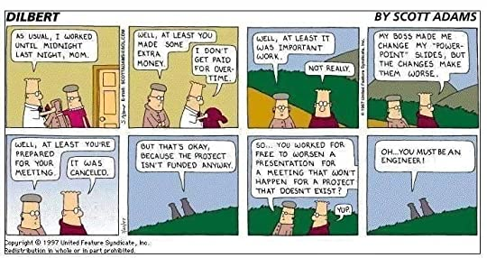 The dilbert principle a cubicles eye view of bosses meetings i have worked in engineering consultancy organisations since 1993 now i will let dilbert speak for me fandeluxe Image collections