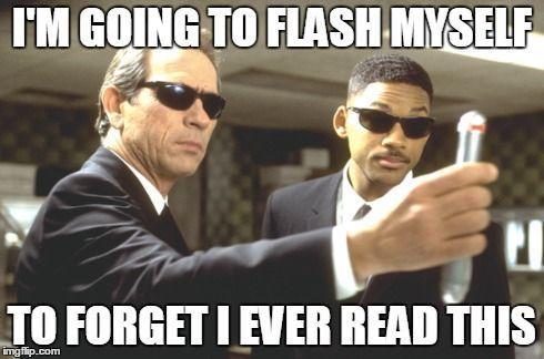 i'm going to flash myself...