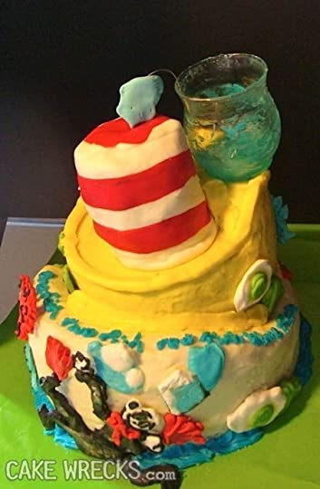 Reaction birthday walrus cake to
