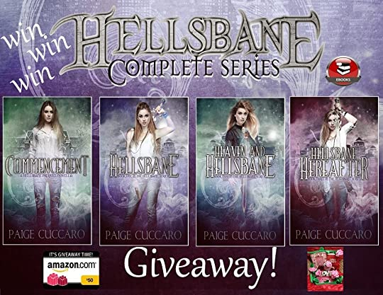 Paige cuccaros blog first prize is a 50 amazon gift card the complete hellsbane ebook series second prize is a box olove the complete hellsbane ebook series fandeluxe Choice Image
