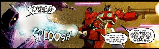 Transformers fighting