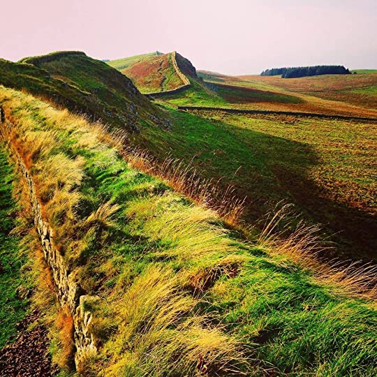 Hadrian's Wall, November 2014