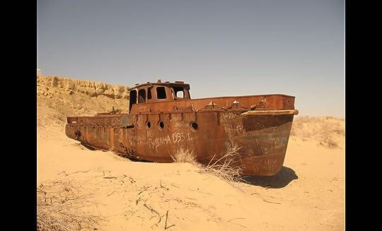 Aral Sea boat