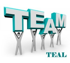 Team Teal Logo