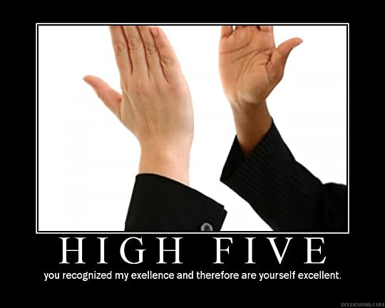 high five photo: high five poster10156654.jpg