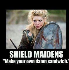 Shield Maiden Sandwich