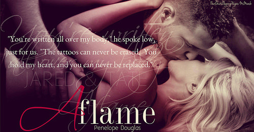 Aflame (Fall Away, #4) by Penelope Douglas