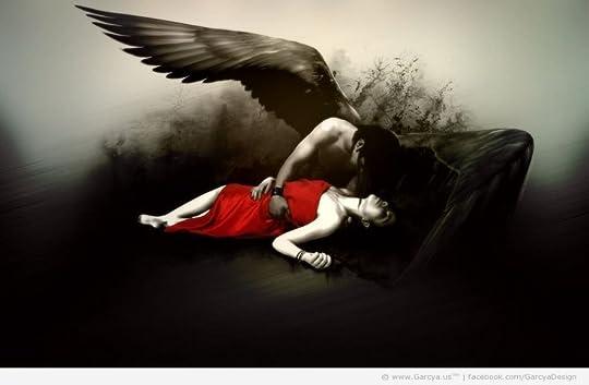 Dark Angel wallpaper for desktop | Colourless Design