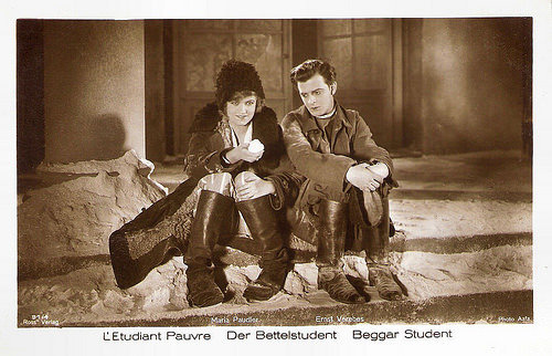 Maria Paudler and Ernst Verebes in Der Bettelstudent (1927)