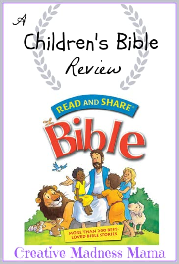 Creative Madness Mama reviews Read and Share Bible