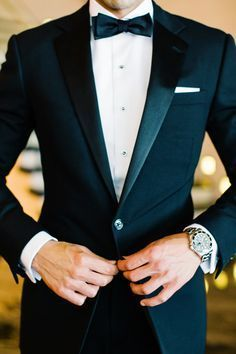 This could definitely be a possibility for my husband and/or groomsmen! I'm in love with a black tie affair!