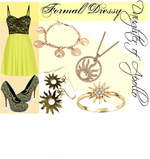 PJO/HOO Outfits: Daughter of Apollo - Formal/Dressy