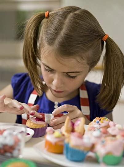messy kids decorated cupcakes - Google Search