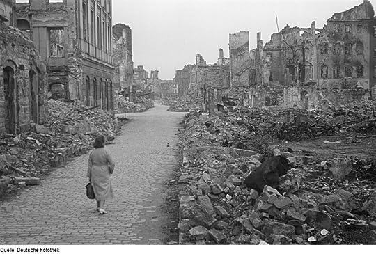 Dresden after the firebombing