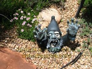 Gnome Zombie Kirby Garden 2015