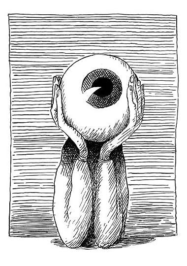 "Illustration by Selçuk Demirel for ""Cataract"" by John Berger"