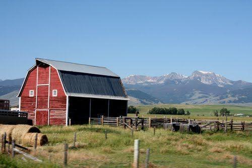 Panoramio - Photo of Montana Farm