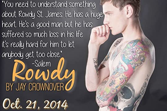 Rowdy (Marked Men, #5) by Jay Crownover