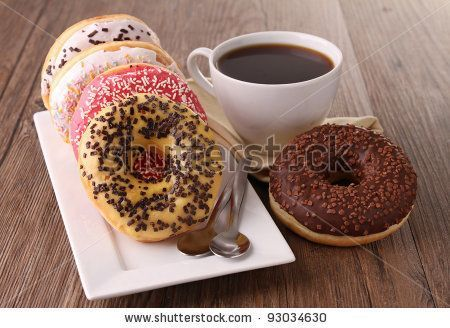 Donuts Coffee Stock Photos, Images, & Pictures | Shutterstock