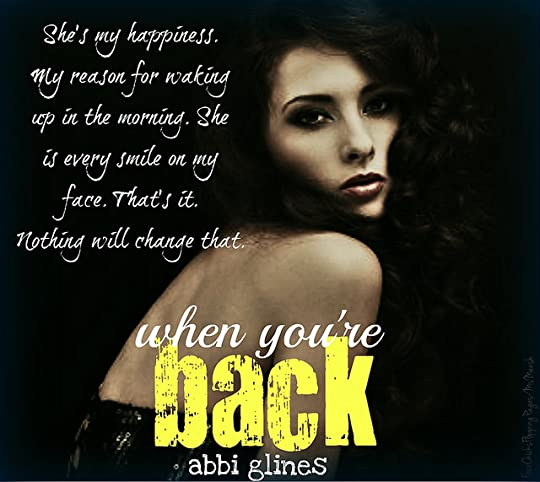 #WhenYoureBack