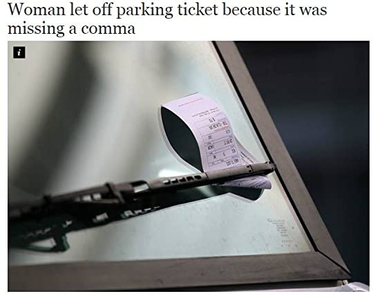 ParkingTicketComma