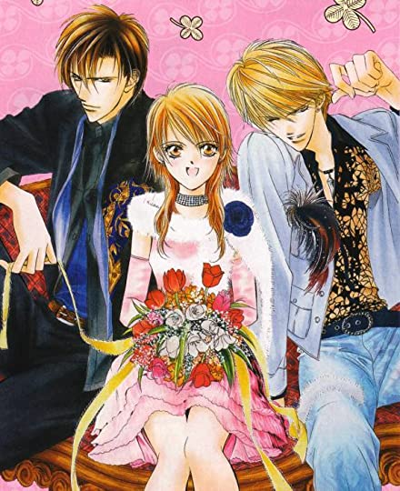 From Left to Right: Ren, Kyoko (the main character)and Sho