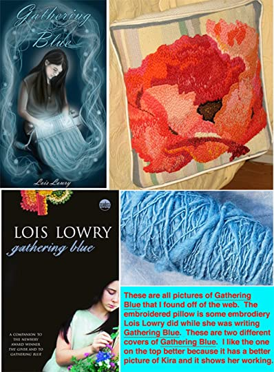 gathering blue lois lowery Gathering blue summary booklist six years after the giver,lois lowry ushered readers back into that mysterious but plausible futuristic world physically flawed, and left with uncertain prospects like the giver, gathering bluechallenges readers to imagine what our world could become and.