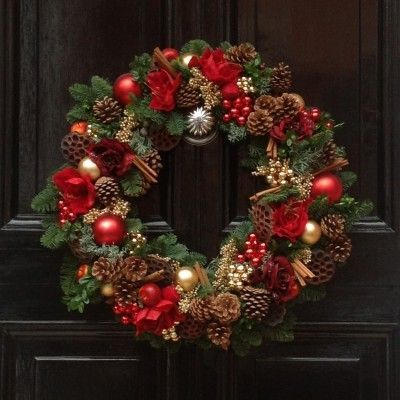 Centre Door Knobs - the perfect accessory to your Christmas wreath ...
