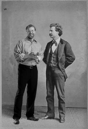 George Saunders and Mark Twain