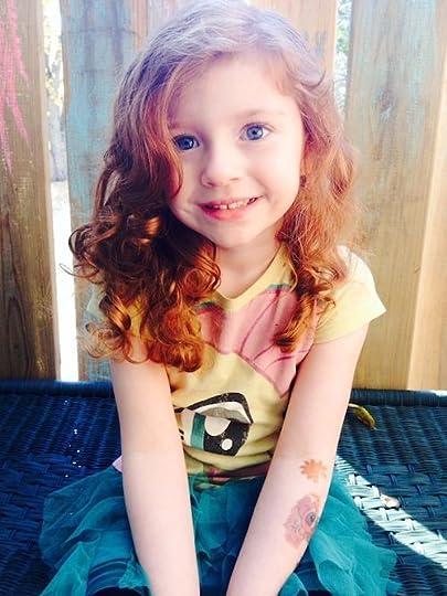red headed little girl