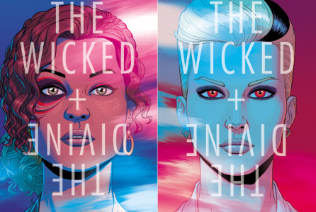 The Wicked + The Divine covers