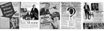 Who Killed William Desmond Taylor
