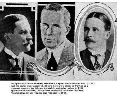 William Desmond Taylor young and as in 1922
