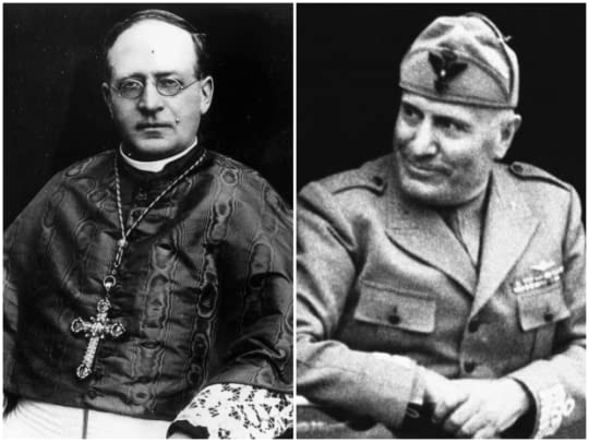 Pope and Mussolini